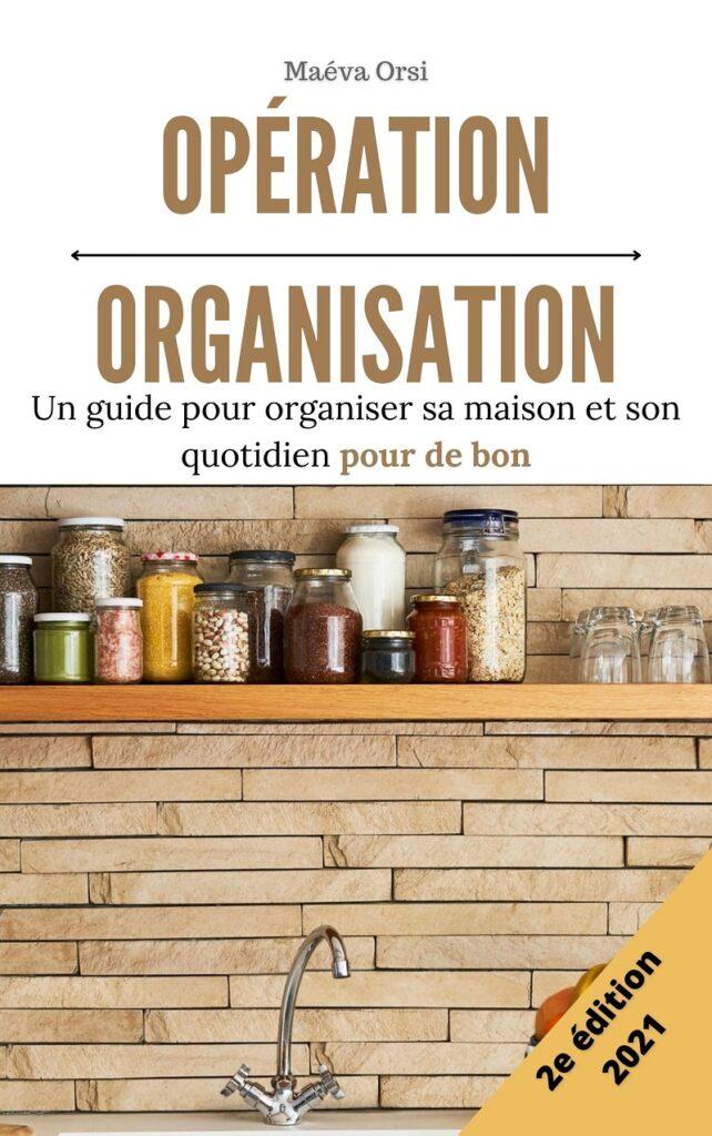 Opération Organisation livre minimalisme