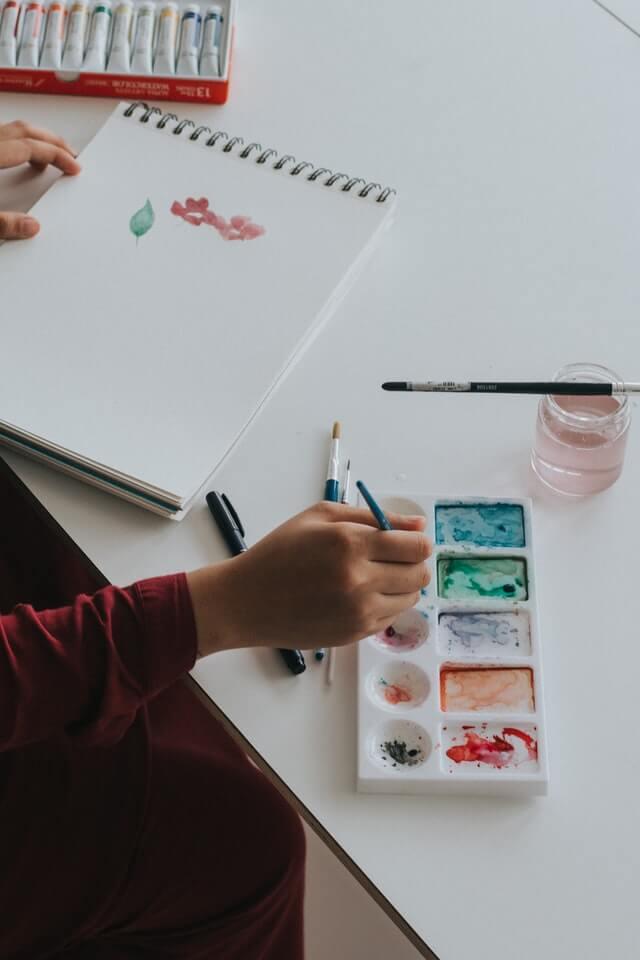 trouver un passe-temps créatif